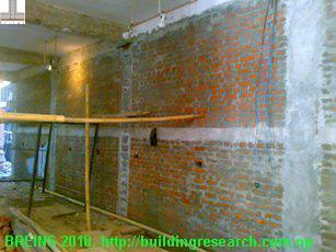 Infill panel wall
